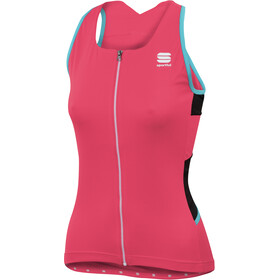 Sportful Luna Top Women pink coral/black